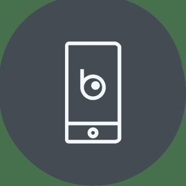 Mobil app i Blikk