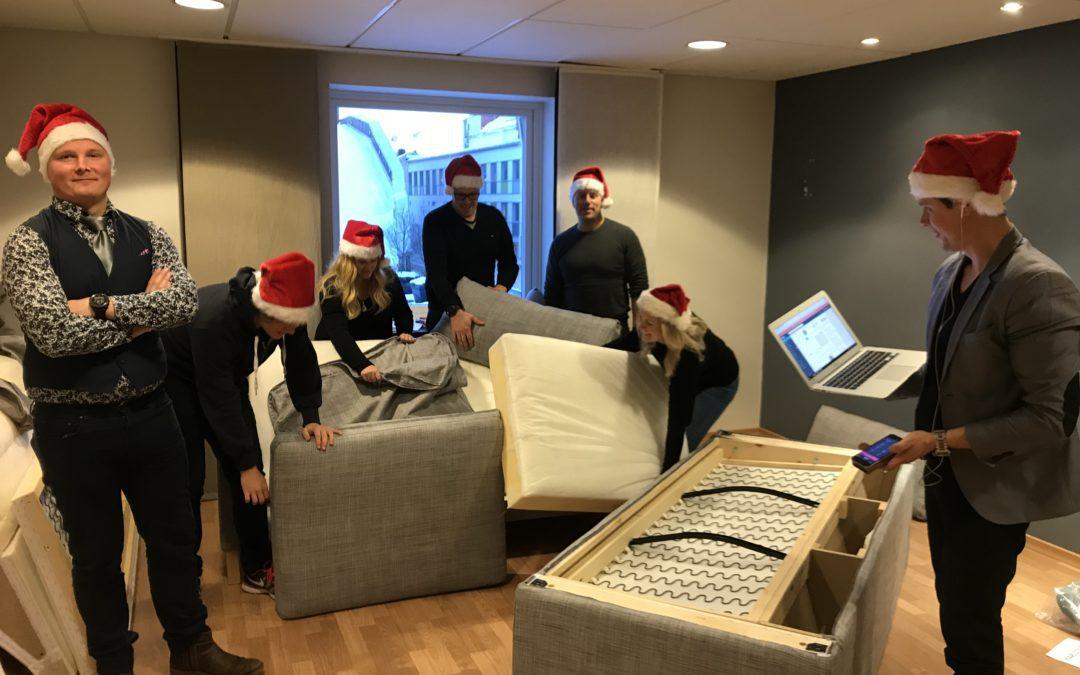 God Jul önskar Blikk-teamet
