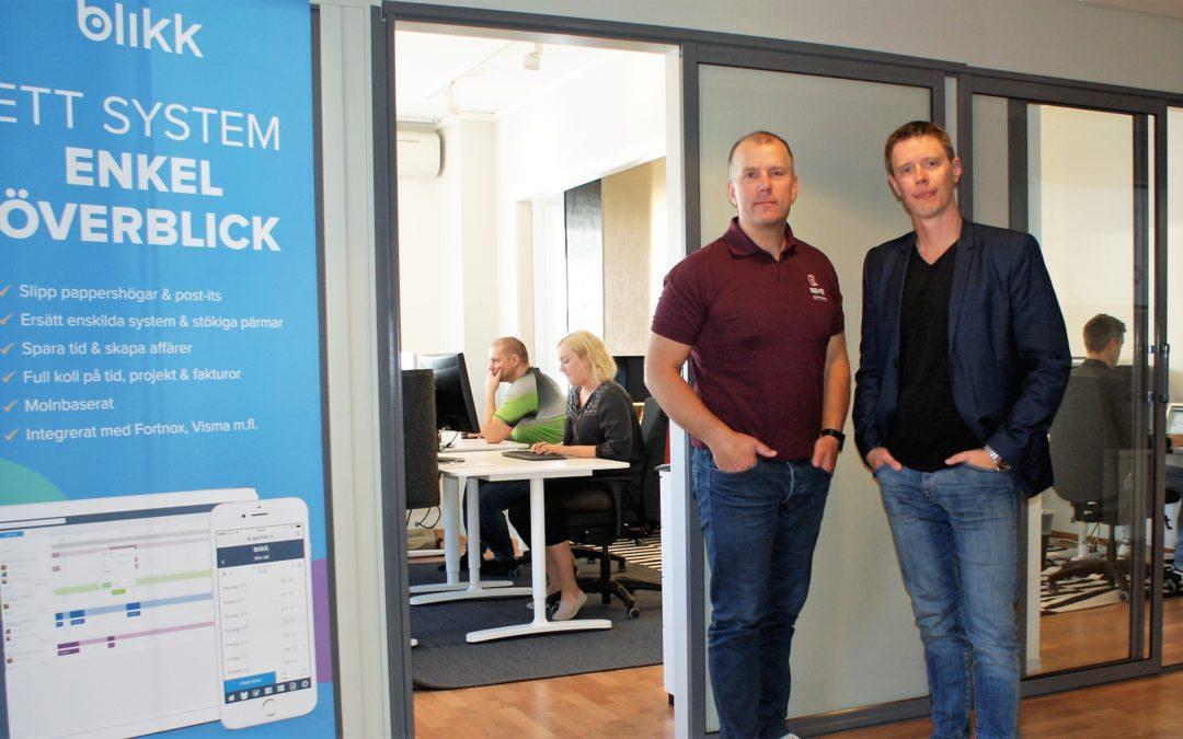 Blikk lanserar ny produkt för tidrapportering och orderhantering