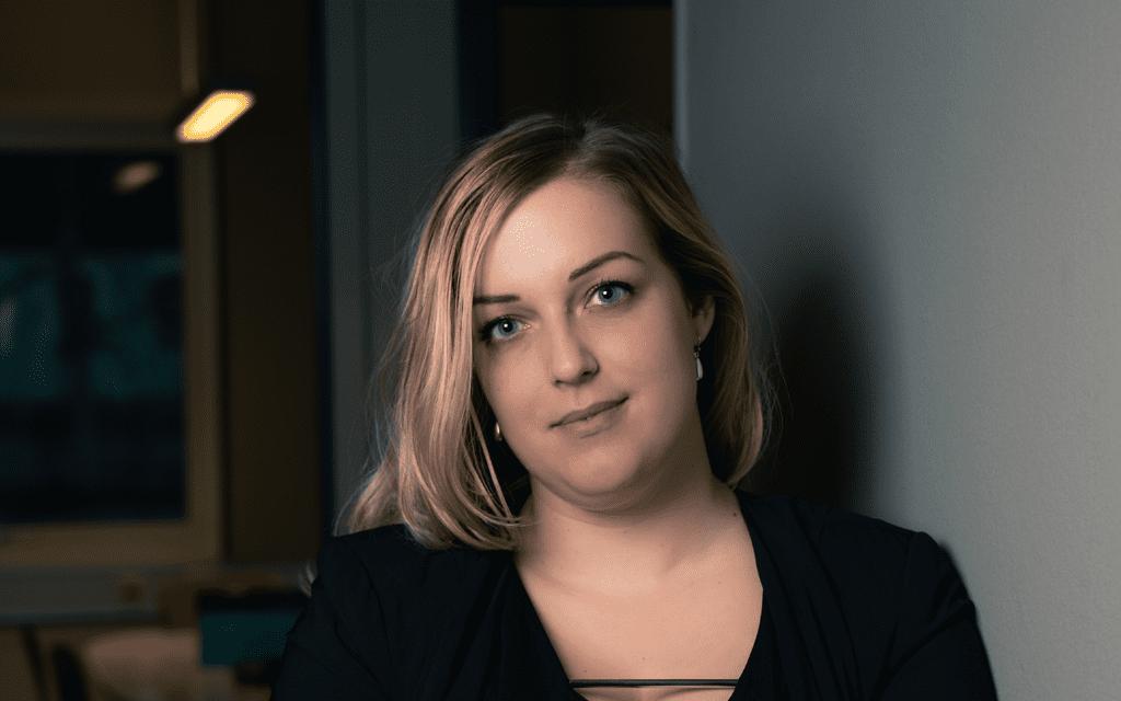 Vi på Blikk. Hanna Vesterberg activation-konsult.