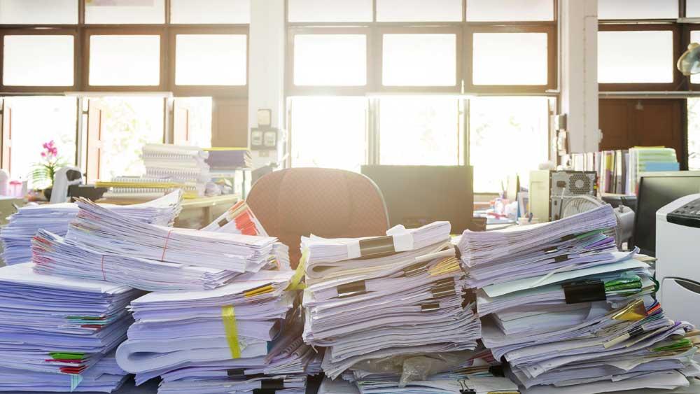 5 tips på vägen till ett pappersfritt kontor!