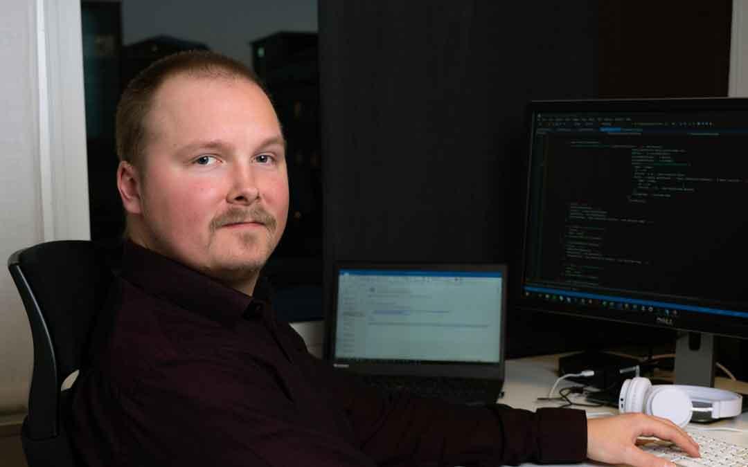 Vi på Blikk – Jonas Lindberg utvecklare