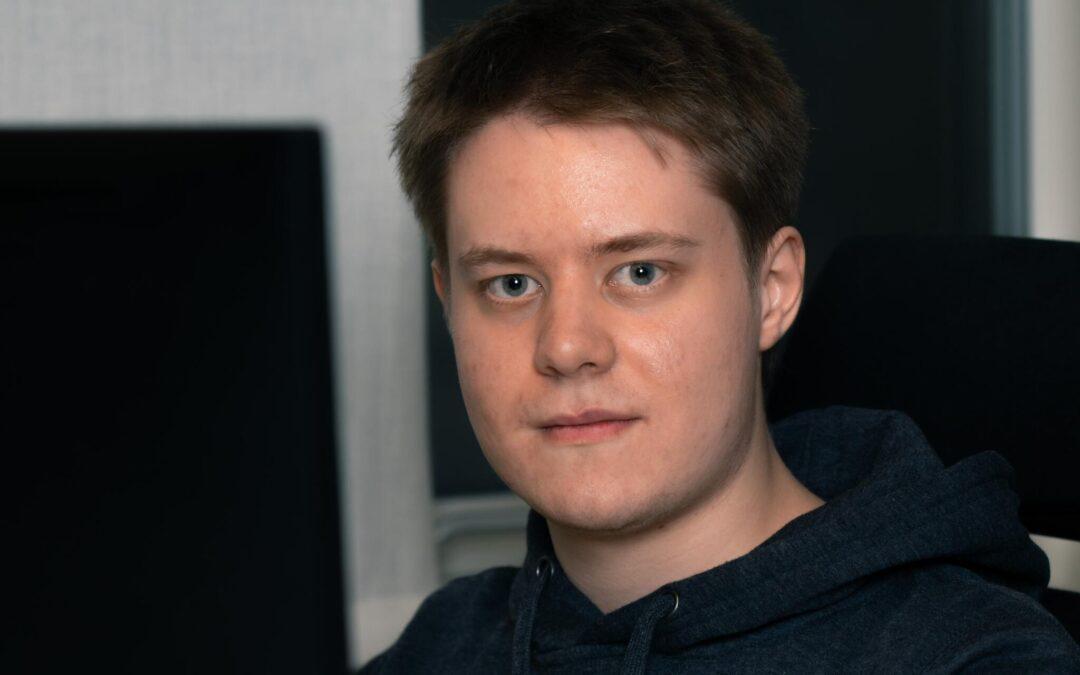 Vi på Blikk – Alexander Bergström utvecklare