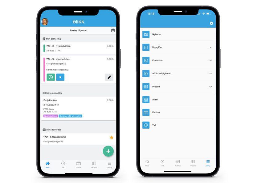 Ny uppdatering av Blikk mobilapp