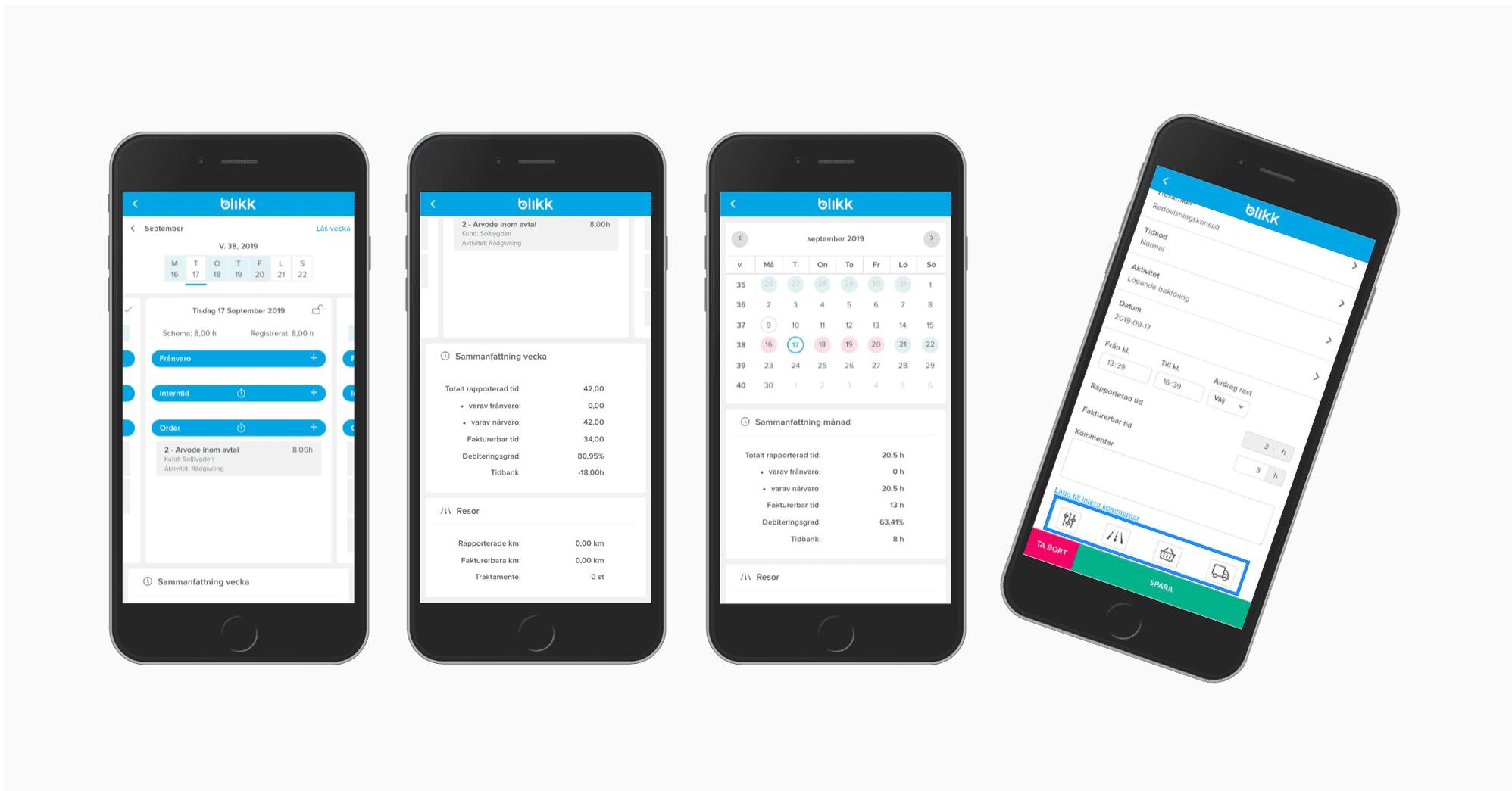 4 funktioner en bra mobilapp för tidrapportering behöver ha